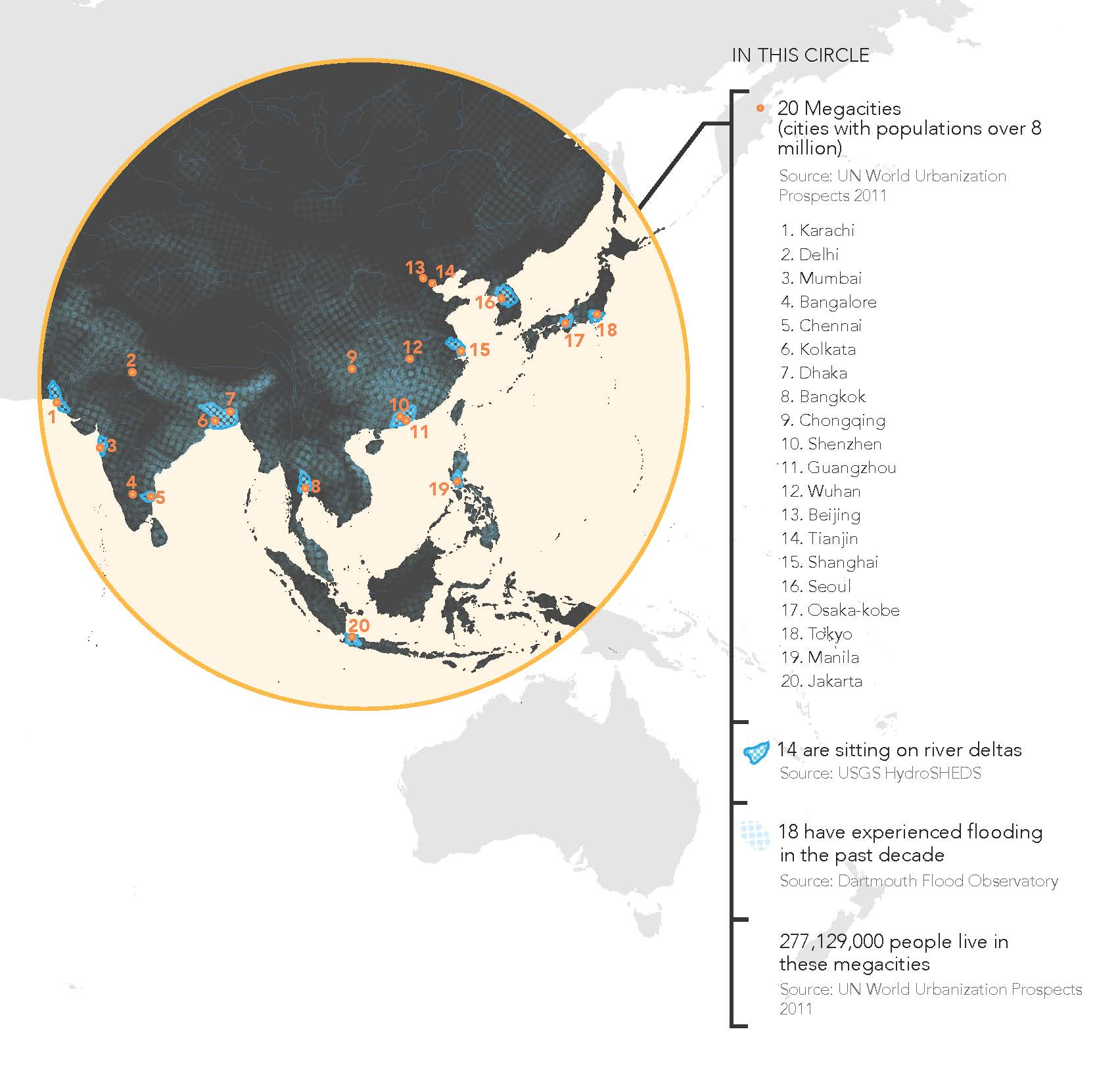 Peta Jakarta Banjir Solid State Relay Fig 02 Map Showing Megacities In Southeast Asia