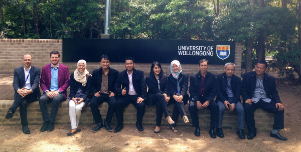 Photo 06. University of Wollongong Global Challenges-funded workshop with members of BPBD DKI Jakarta.